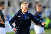 Joe Schmidt, Leinster Head Coach, before the Amlin Challenge Cup Final between Leinster Rugby and Stade Francais at the RDS Arena, Dublin on Friday 17th May 2013 (Photo by Rob Munro).