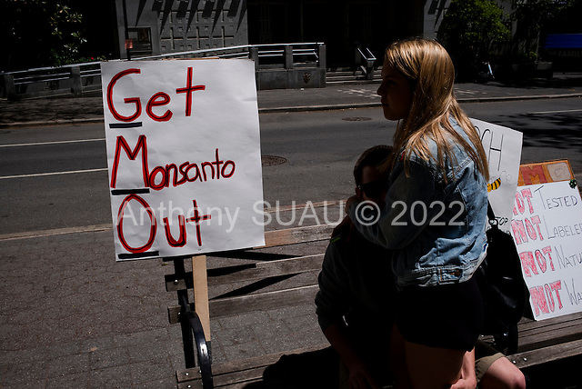 New York, New York<br /> May 23, 2015<br /> <br /> March Against Monsanto in Manhattan.