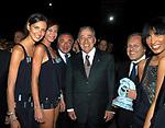 BIAGIO AGNES CON PIPPO MARRA E MARCELLO SORGI<br /> EVENTO MODA FENDI ROMA 2004
