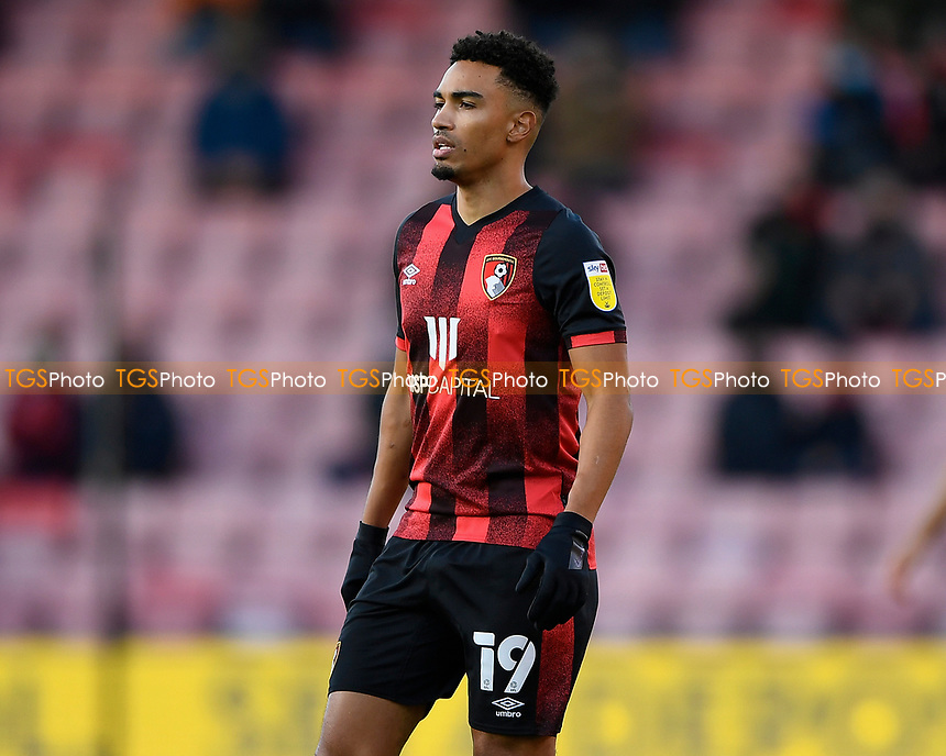 Junior Stanislas of AFC Bournemouth during AFC Bournemouth vs Huddersfield Town, Sky Bet EFL Championship Football at the Vitality Stadium on 12th December 2020