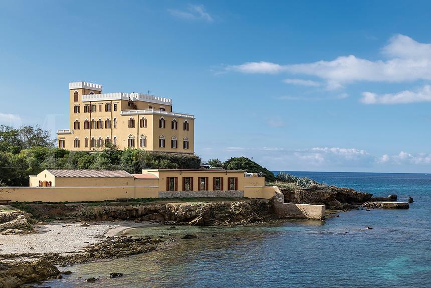 Villa Las Tronas Hotel, Alghero, Sardinia, Italy.
