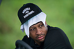 Allen Iverson during the World Celebrity Pro-Am 2016 Mission Hills China Golf Tournament on 23 October 2016, in Haikou, Hainan province, China. Photo by Marcio Machado / Power Sport Images