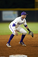 Western Carolina Catamounts third baseman Zach Ketterman (4) on defense against the St. John's Red Storm at Childress Field on March 13, 2021 in Cullowhee, North Carolina. (Brian Westerholt/Four Seam Images)