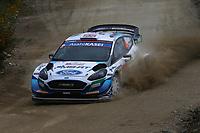 21st May 2021, Arganil, Portugal. WRC Rally of Portugal;  Gus Greensmith-Ford Fiesta WRC