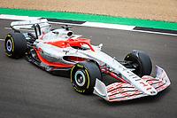 15th July 2021, Silverstone Circuit, Northampton, England;  2022 car launch, during the Formula 1 Pirelli British Grand Prix 2021, 10th round of the 2021 FIA Formula One World Championship