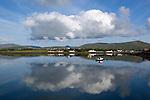 Ireland, County Kerry, The Dingle Peninsula, Dingle: view across Dingle Bay | Irland, County Kerry, Dingle Halbinsel, Blick ueber Dingle Bay