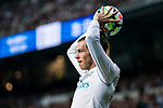 Gareth Bale (R) of Real Madrid in action during the La Liga 2017-18 match between Real Madrid and Athletic Club Bilbao at Estadio Santiago Bernabeu on April 18 2018 in Madrid, Spain. Photo by Diego Souto / Power Sport Images
