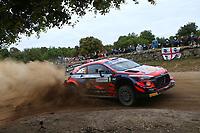 5th June 2021; Monte Acuto, Sardinia; WRC rally of Italia Sardinia; Ott Tanak-Hyundai i20 WRC
