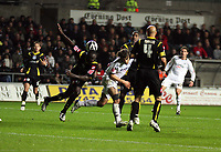 Pictured: Jordi Gomez of Swansea City in action<br /> Re: Coca Cola Championship, Swansea City Football Club v Queens Park Rangers at the Liberty Stadium, Swansea, south Wales 21st October 2008.
