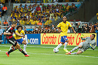 Miroslav Klose of Germany scores a goal to make it 0-2