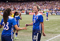 New Orleans, LA - December 16, 2015: The USWNT lost to China 1-0  during the last game of the Victory Tour at the Superdome.