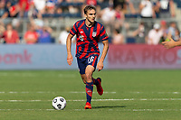 KANSAS CITY, KS - JULY 18: James Sands #16 of the United States during a game between Canada and USMNT at Children's Mercy Park on July 18, 2021 in Kansas City, Kansas.