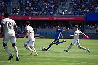 SAN JOSE, CA - AUGUST 8: Judson #93 during a game between Los Angeles FC and San Jose Earthquakes at PayPal Stadium on August 8, 2021 in San Jose, California.