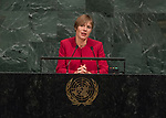 Opening of GA 72 2017 PM<br /> <br /> Her Excellency Kersti Kaljulaid, President of the Republic of Estonia