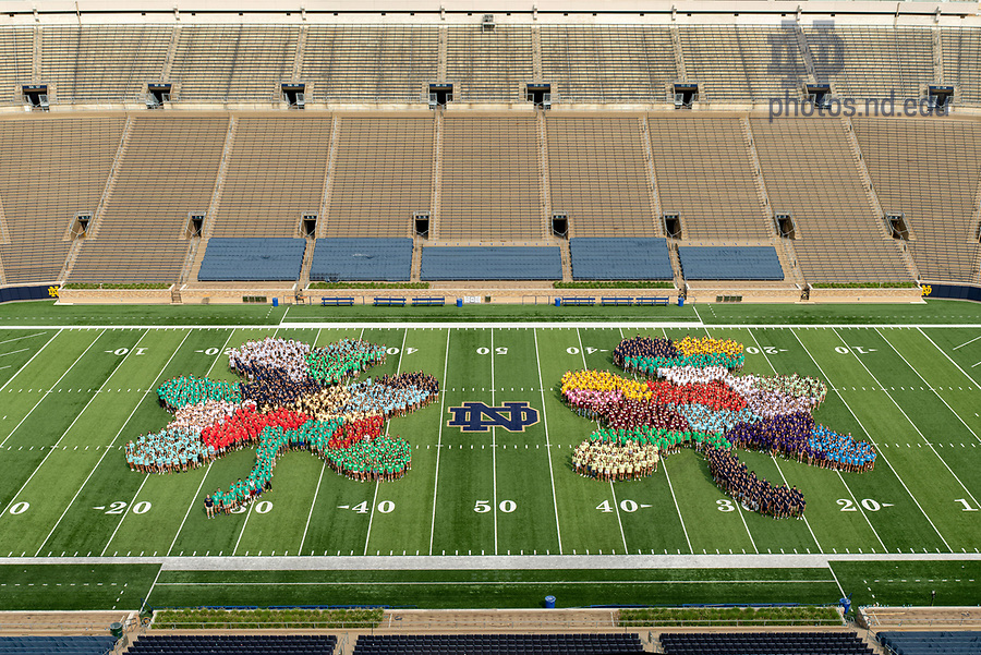 August 18, 2018; University of Notre Dame Class of 2022 (Photo by Matt Cashore/University of Notre Dame)