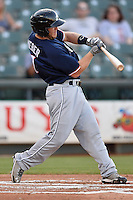 Reno Aces second baseman Garrett Weber (7) during pacific coast league baseball game, Friday August 15, 2014 in Round Rock, Tex. Reno defeats Round Rock 11-9 to sweep three game series. (Mo Khursheed/TFV Media via AP Images)