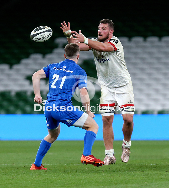 Saturday 12th September 2020 | PRO14 Final - Leinster vs Ulster<br /> <br /> Sean Reidy during the Guinness PRO14 Final between Leinster ands Ulster at the Aviva Stadium, Lansdowne Road, Dublin, Ireland. Photo by John Dickson / Dicksondigital