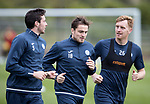 St Johnstone Training…12.10.17<br />Joe Shaughnessy, Paul Paton and Liam Craig pictured in training ahead of tomorrow nights game against Rangers<br />Picture by Graeme Hart.<br />Copyright Perthshire Picture Agency<br />Tel: 01738 623350  Mobile: 07990 594431