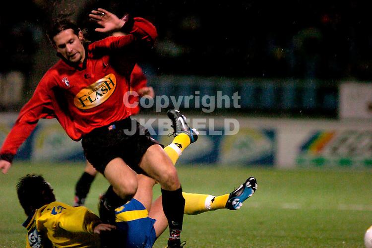 cambuur - helmond sport gouden gids divisie seizoen 2004-2005 19-11-2004  esad razic verspeelt de bal