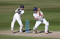 Sam Hain in batting action for Warwickshire during Warwickshire CCC vs Essex CCC, LV Insurance County Championship Group 1 Cricket at Edgbaston Stadium on 25th April 2021