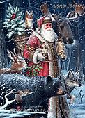 Liz,CHRISTMAS SANTA, SNOWMAN, WEIHNACHTSMÄNNER, SCHNEEMÄNNER, PAPÁ NOEL, MUÑECOS DE NIEVE, paintings+++++,USHCLD0017,#x#