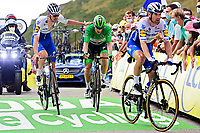 11th September 2020; Chatel-Guyon to Puy Marie Cantal, France;   BENNETT Sam (IRL) of DECEUNINCK - QUICK - STEP during stage 13 of the 107th edition of the 2020 Tour de France cycling race, a stage of 191,5 km with start in Chatel-Guyon and finish in Puy Marie Cantal on September 11, 2020