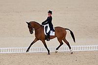 BRA-Jorge Marcio Carvalho (JOSEPHINE) 2012 LONDON OLYMPICS (Saturday 28 July 2012) EVENTING DRESSAGE: INTERIM-26TH (58.50)