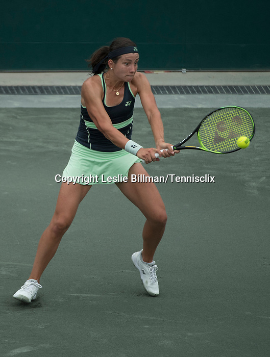 April 4,2018:  Anastasia Sevastova (LAT) defeated Caroline Dolehide (USA) 7-5, 6-7, 6-1, at the Volvo Car Open being played at Family Circle Tennis Center in Charleston, South Carolina.  ©Leslie Billman/Tennisclix/CSM