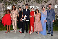 "LOS ANGELES, USA. October 22, 2019: Alfre Woodard, Jason Momoa, Nesta Cooper, Archie Madekwe, Hera Hilmar, Yadira Guevara-Prip, Sylvia Hoeks, and Christian Camargo at the premiere of AppleTV+'s ""SEE"" at the Regency Village Theatre.<br /> Picture: Paul Smith/Featureflash"