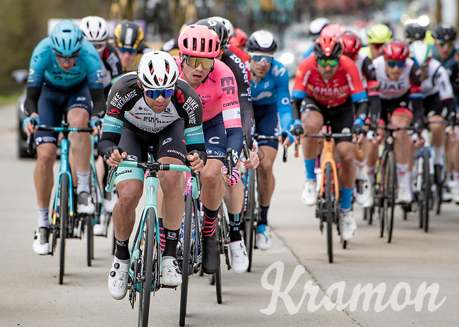 Michael Matthews (AUS/BikeExchange) in the first bunch<br /> <br /> 83rd Gent-Wevelgem - in Flanders Fields (ME - 1.UWT)<br /> 1 day race from Ieper to Wevelgem (BEL): 254km<br /> <br /> ©kramon