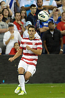 U.S forward Herculez Gomez(9) puts in a cross..USMNT defeated Guatemala 3-1 in World Cup qualifying play at LIVESTRONG Sporting Park, Kansas City, KS.
