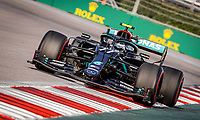 26th September 2020, Sochi, Russia; FIA Formula One Grand Prix of Russia, qualification;  77 Valtteri Bottas FIN, Mercedes-AMG Petronas Formula One Team