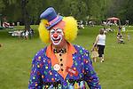 Clown at Rangely, ME fair.