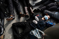 I can't Breathe - Die In - Eric Garner Protest - Harvard - Memorial Church