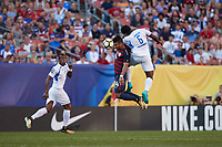 Cleveland, Ohio - Saturday, July 15, 2017: Dom Dwyer during the USMNT vs Nicaragua in CONCACAF Gold Cup 2017 match at First Energy Stadium.