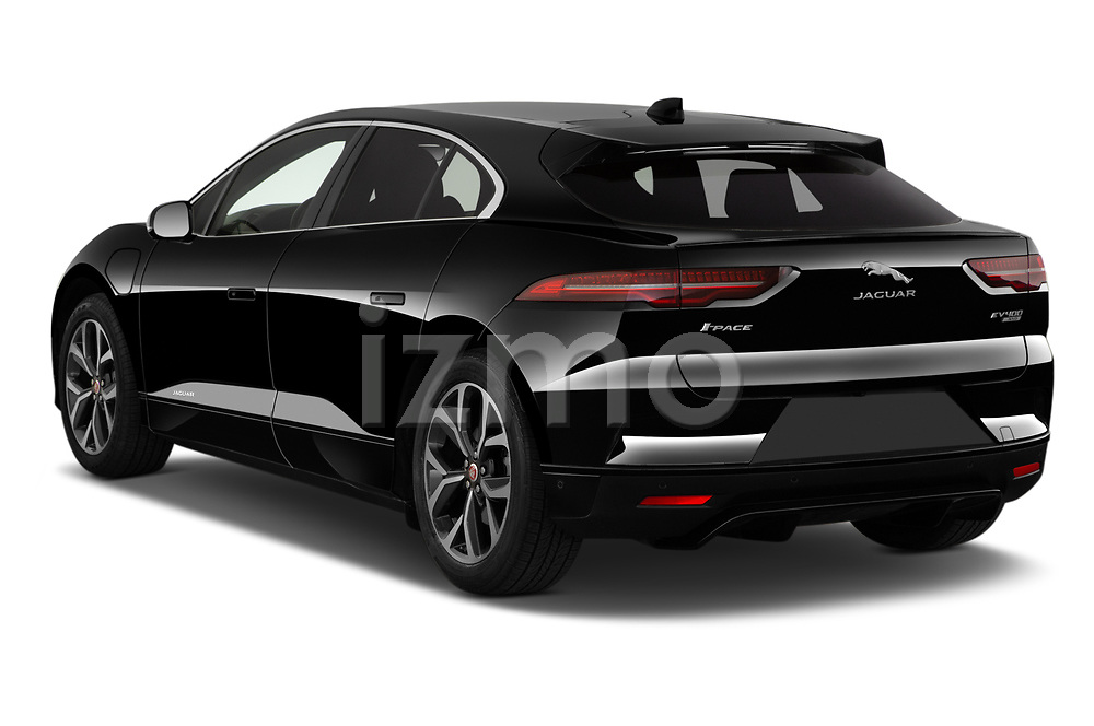 Car pictures of rear three quarter view of 2020 Jaguar I-PACE HSE 5 Door SUV Angular Rear