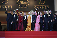 LE JURY DU 70 EME FESTIVAL<br /> 70th Anniversary Event - The 70th Annual Cannes Film Festival at Palais des Festivals on May 23, 2017 in Cannes, France