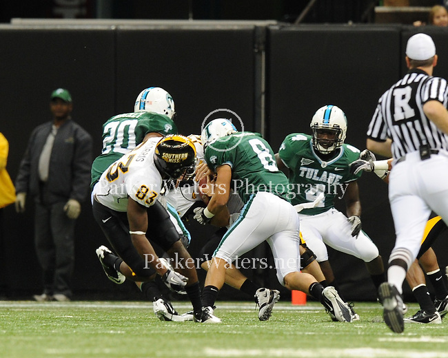 Southern Miss defeats Tulane 46-30 in the Louisiana Superdome.