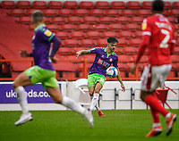 3rd October 2020; City Ground, Nottinghamshire, Midlands, England; English Football League Championship Football, Nottingham Forest versus Bristol City; Jamie Paterson of Bristol City hits a ball into the box