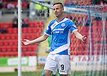St Johnstone v Stirling Albion…30.07.16  McDiarmid Park. Betfred Cup<br />Steven MacLean reacts after having a goal disallowed for offside<br />Picture by Graeme Hart.<br />Copyright Perthshire Picture Agency<br />Tel: 01738 623350  Mobile: 07990 594431