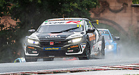 23rd August 2020; Oulton Park Circuit, Little Budworth, Cheshire, England; Kwik Fit British Touring Car Championship, Oulton Park, Race Day;  Dan Cammish Halfords Yuasa Racing driving a Honda Civic Type R in race 2