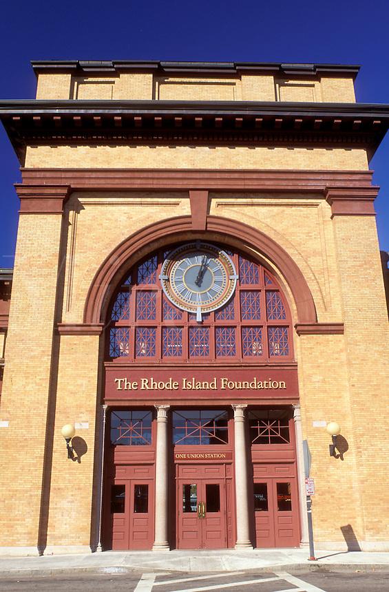 train station, Providence, Rhode Island, RI, The Rhode Island Foundation at Union Station in downtown Providence.