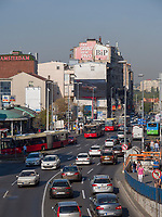 Auf der Brankova, Belgrad, Serbien, Europa<br /> Brankova Street,  Belgrade, Serbia, Europe