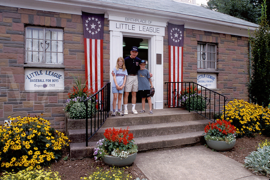 little league, baseball, Williamsport, Pennsylvania, PA, Carl E. Stotz Field, Birthplace of Little League Baseball
