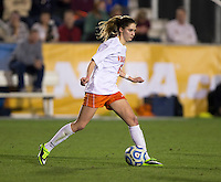 Morgan Brian. UCLA advanced on penalty kicks after defeating Virginia, 1-1, in regulation time at the NCAA Women's College Cup semifinals at WakeMed Soccer Park in Cary, NC.