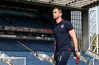 Bolton Wanderers' Andrew Taylor pictured before the match <br /> <br /> Photographer Andrew Kearns/CameraSport<br /> <br /> The EFL Sky Bet Championship - Blackburn Rovers v Bolton Wanderers - Monday 22nd April 2019 - Ewood Park - Blackburn<br /> <br /> World Copyright © 2019 CameraSport. All rights reserved. 43 Linden Ave. Countesthorpe. Leicester. England. LE8 5PG - Tel: +44 (0) 116 277 4147 - admin@camerasport.com - www.camerasport.com