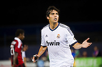 Kaka (8) of Real Madrid. Real Madrid defeated A. C. Milan 5-1 during a 2012 Herbalife World Football Challenge match at Yankee Stadium in New York, NY, on August 8, 2012.
