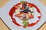 Dessert, II Guscio Restaurant, Florence, Tuscany, Italy