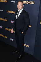 HOLLYWOOD, LOS ANGELES, CA, USA - DECEMBER 15: Jai Courtney arrives at the Los Angeles Premiere Of Universal Pictures' 'Unbroken' held at the Dolby Theatre on December 15, 2014 in Hollywood, Los Angeles, California, United States. (Photo by Xavier Collin/Celebrity Monitor)