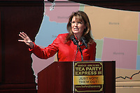 Sarah Palin and the Tea Party Express stop at Boston Common April 14,2010